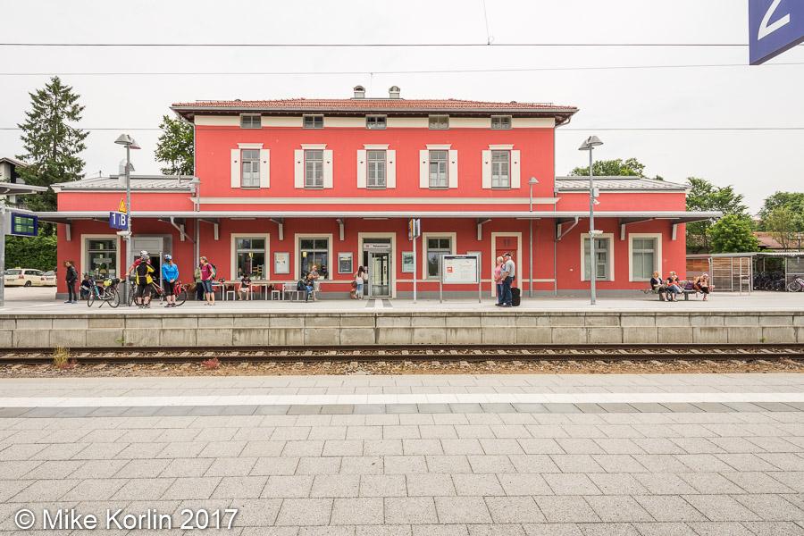 Bahnhof Murnau am 05.06.2017