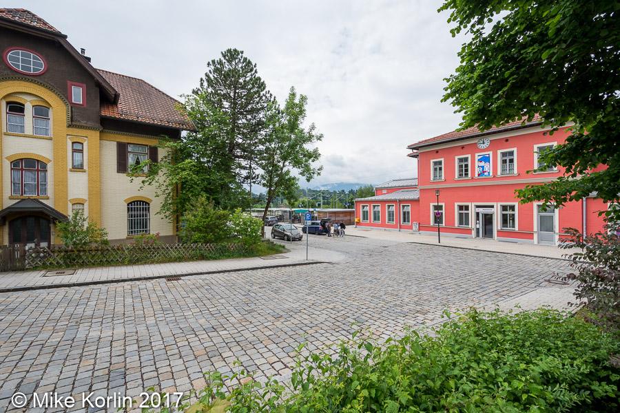 Localbahnhof und Bahnhof Murnau am 05.06.2017