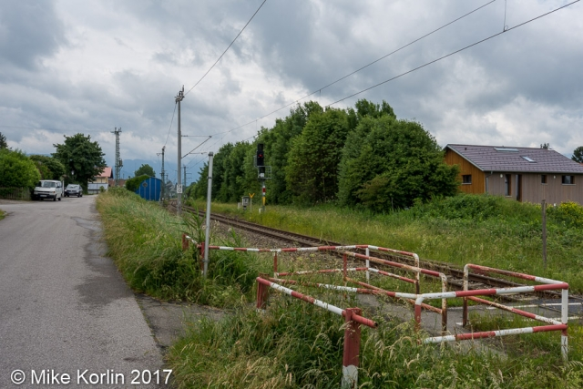 Übergang bei Murnau am 05.06.2017