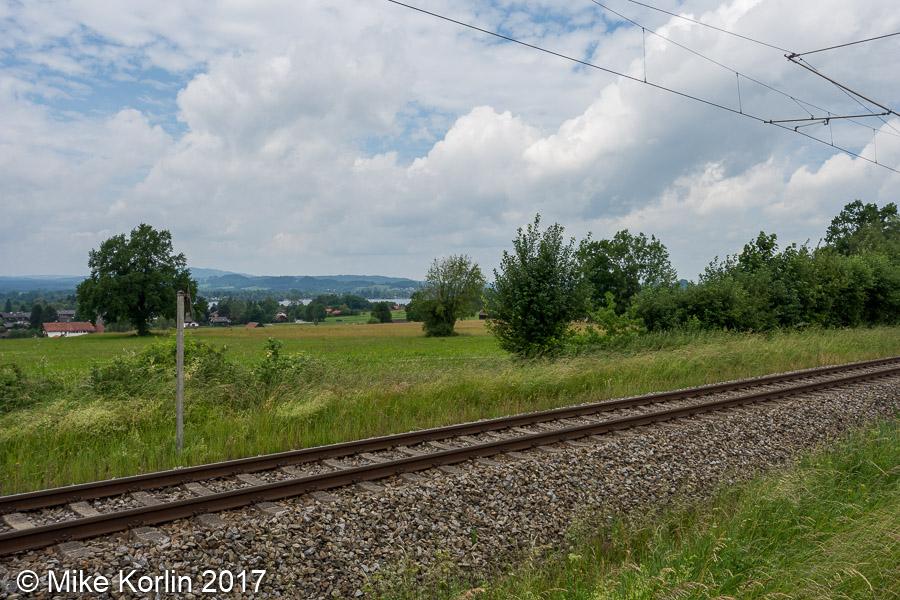 Strecke Murnau am 05.06.2017