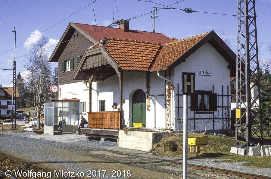 KBS_963 Bahnhof Altenau am 26.03.1986