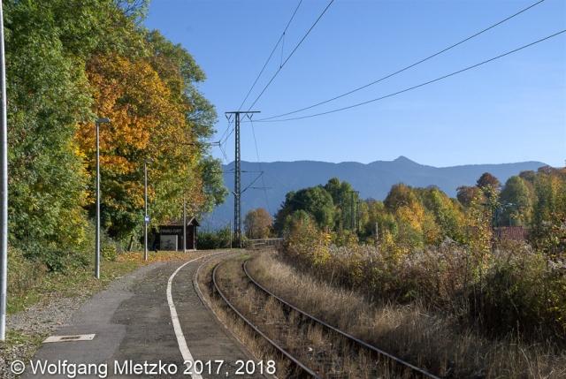 Haltestelle Murnau-Ort am 11.10.2008