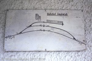 KBS_963 Bahnhof Saulgrub Gleisplan