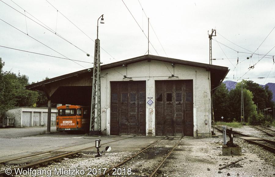 KBS_963 Lokschuppen in Murnau um 1981