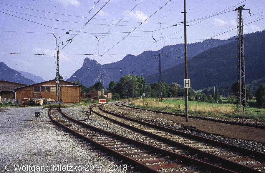 Unterammergau um 1981