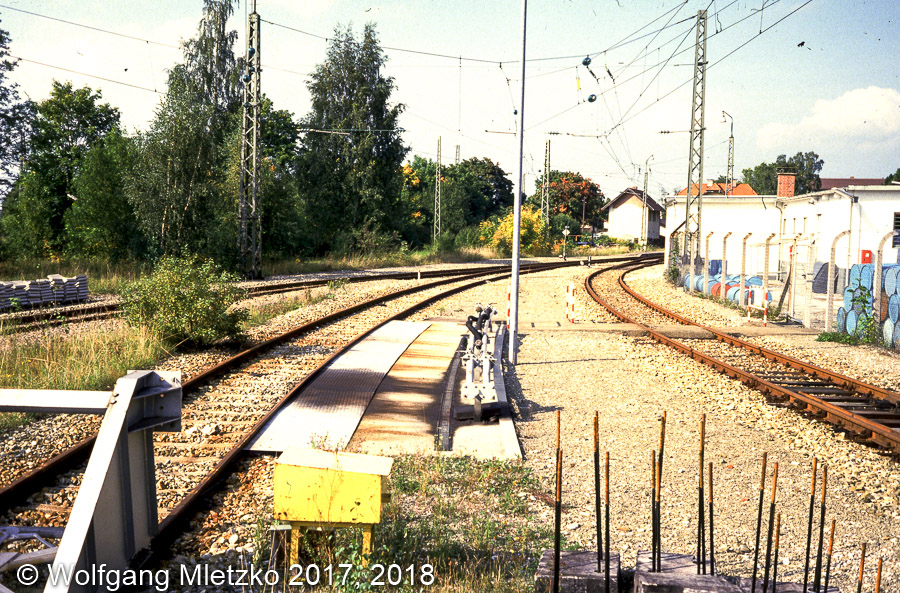 KBS_963 Abstellanlage in Murnau am 30.09.1984