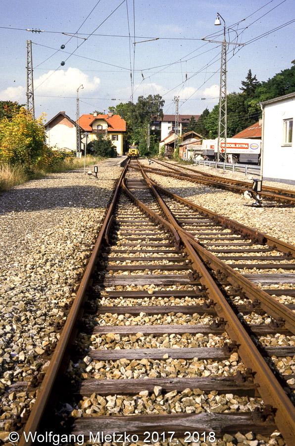 KBS_963 Localbahnhof in Murnau am 30.09.1984