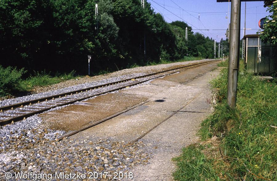 KBS_963 Haltepunkt Grafenaschau ca. 1987