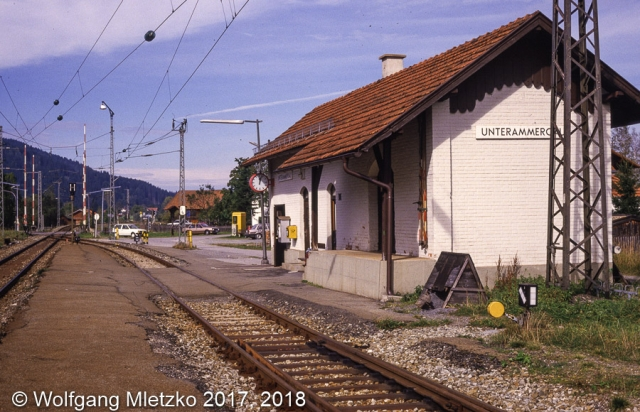 Unterammergau um 1987