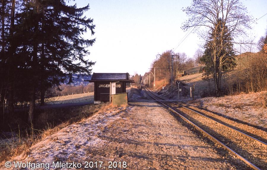 KBS_963 Haltestelle Jägerhaus ca. 1987