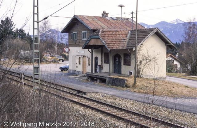 KBS_963 Haltepunkt Grafenaschau ca. 1989