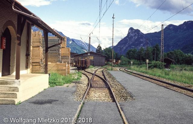 Unterammergau um 1990