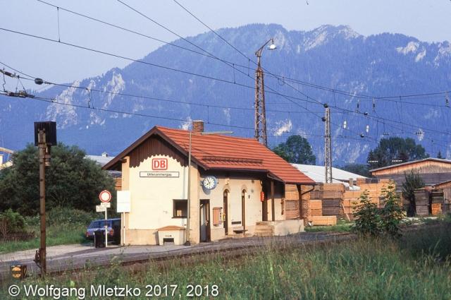 Unterammergau am 08.07.1995
