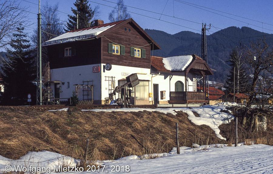 KBS_963 Bahnhof Altenau am 02.02.1997