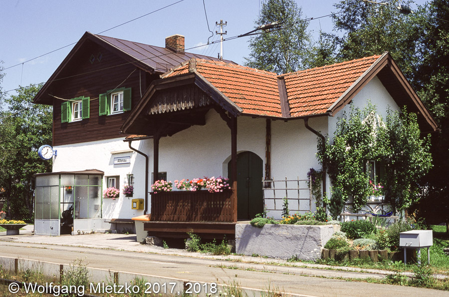 KBS_963 Bahnhof Altenau am 02.08.1999