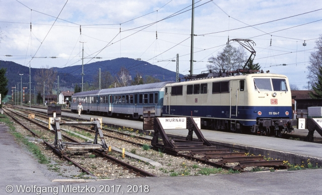 111 194-7 in Oberammergau am 01.05.1998