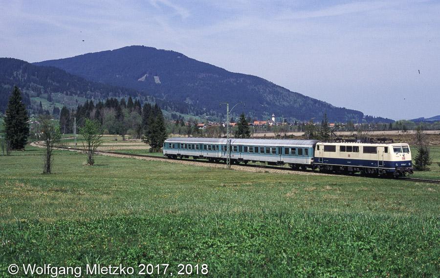 111 194-7 bei Oberammergau am 09.05.1998