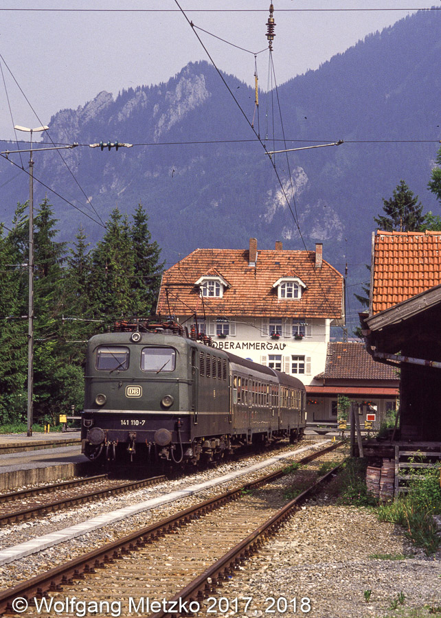 141 110 in Oberammergau am 17.06.1990