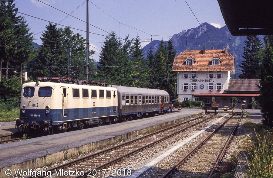 141 369 in Oberammergau am 29.07.1990