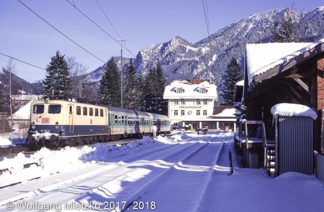 141 156 in Oberammergau am 05.03.1995