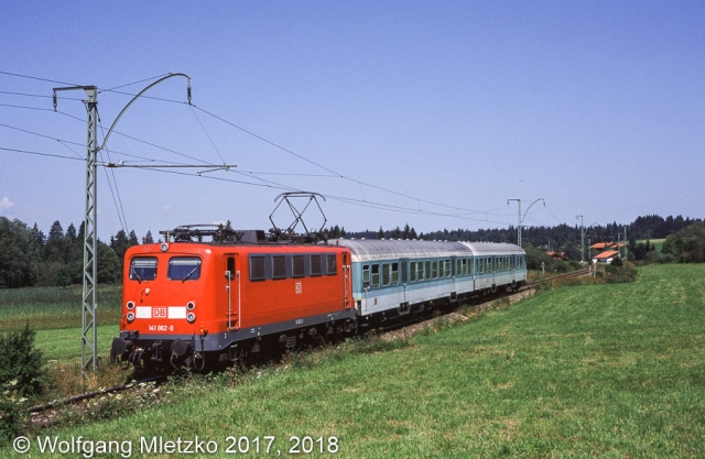 141 062 bei Altenau am 02.08.1999