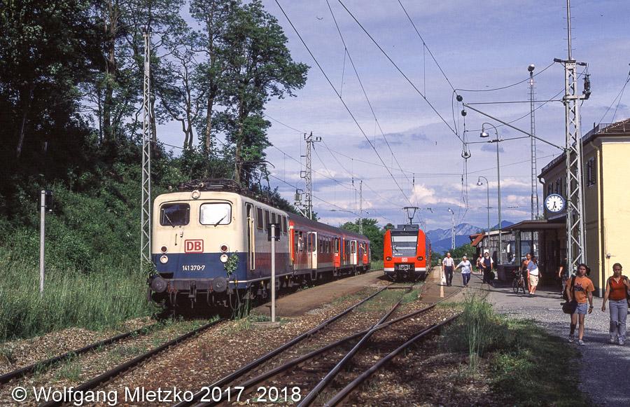 141 370-7 und 426 534-? in Bad Kohlgrub am 13.06.2002
