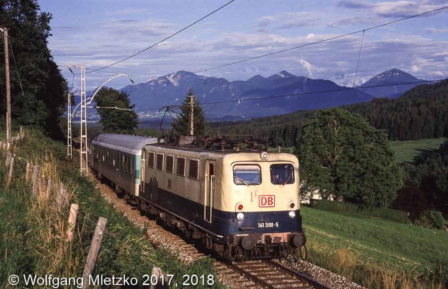 141 390 bei Bad Kohlgrub am 10.07.1999