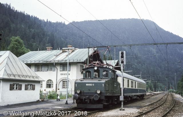169 002-3 in Griesen am 11.08.1981