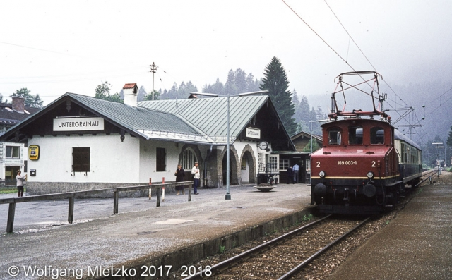 169 003-1 in Untergrainau am 13.06.1981