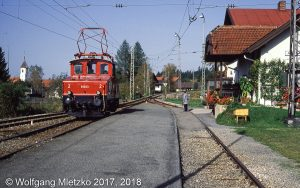 E69 03 in Altenau am 14.10.1990