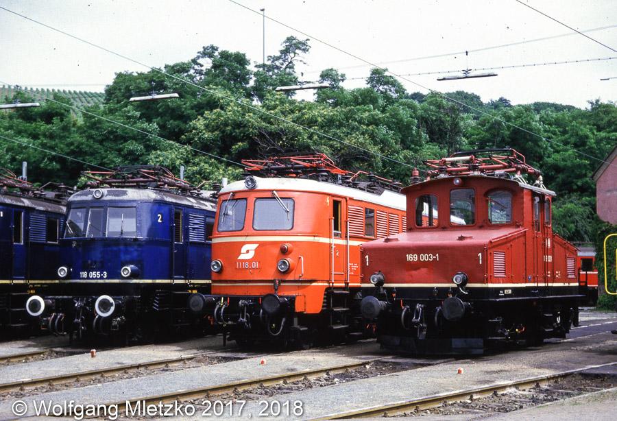 169 003-1 im BW Würzburg am 21.07.1984