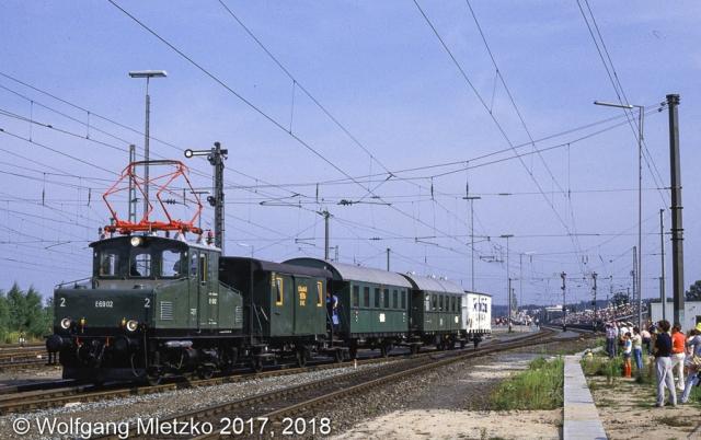 E69 02 bei der Nürnberg-Langwasser Parade am 22.09.1985