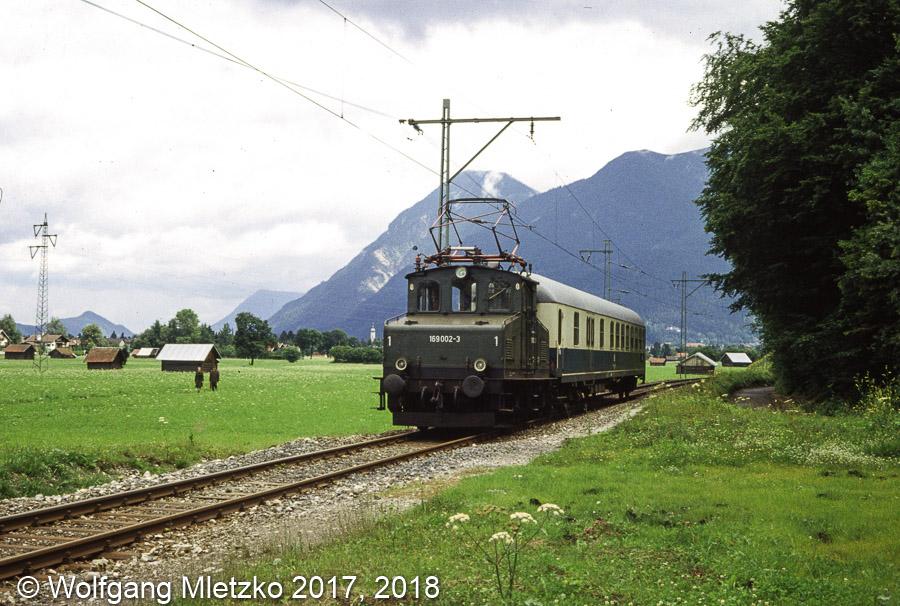 169 002-3 bei Obergrainau am 25.07.1981