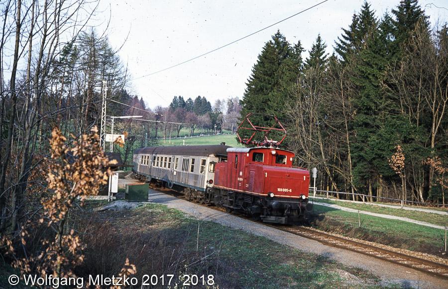 169 005-6 bei Seeleiten Berggeist am 03.04.1981