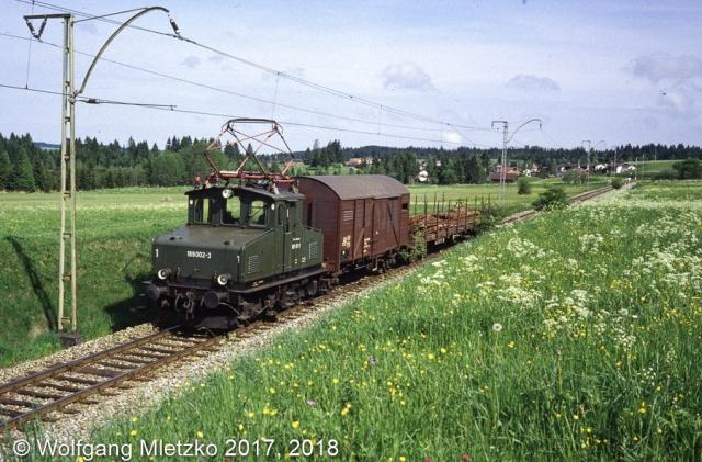 169 002-3 bei Altenau am 25.05.1981