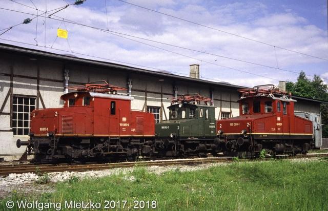 3x 169 im BW-Murnau am 23.05.1981