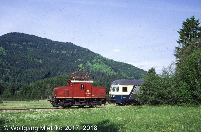 169 005-6 bei Unterammergau am 23.05.1981