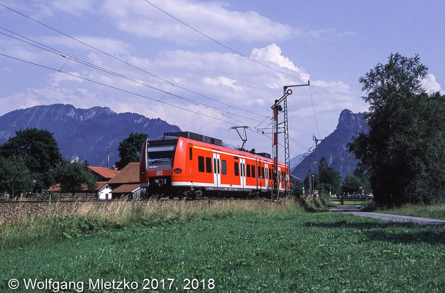 426 028 bei Unterammergau am 23.06.2002