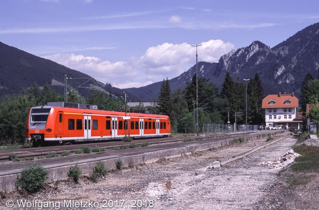 426 033 in Oberammergau am 10.06.2006