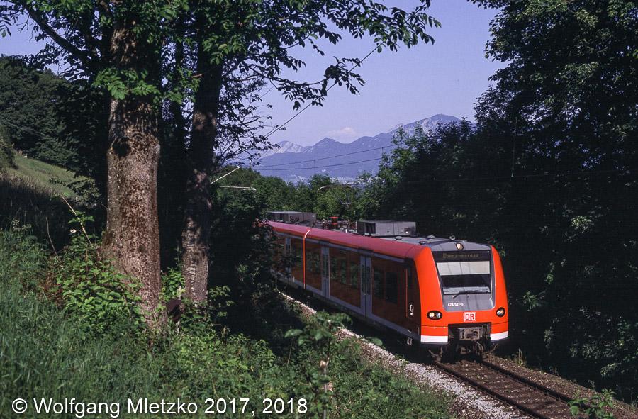 426 031 bei Bad Kohlgrub am 12.06.2006