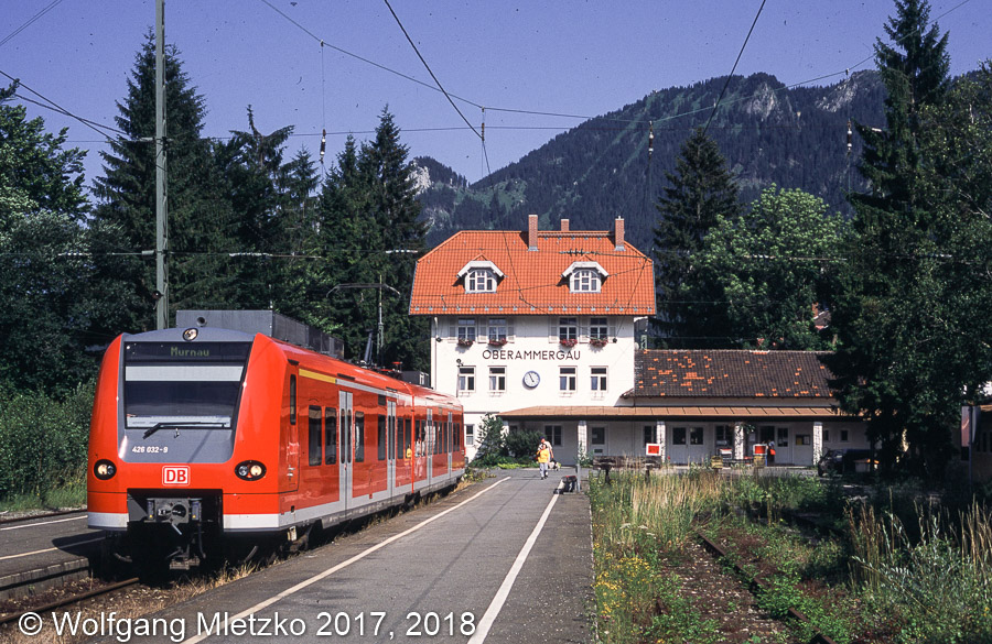 426 532 in Oberammergau am 05.07.2002