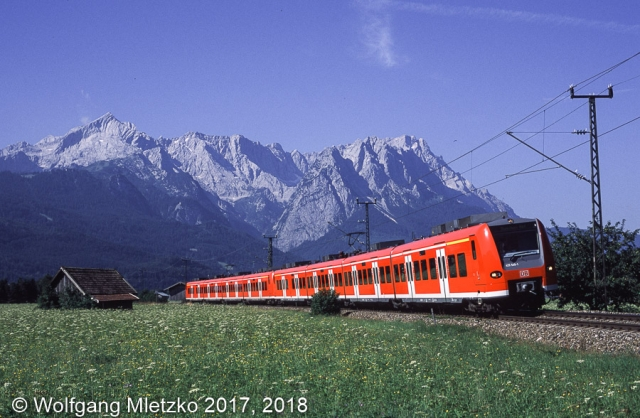 425 545 bei Garmisch-Partenkirchen am 23.07.2002