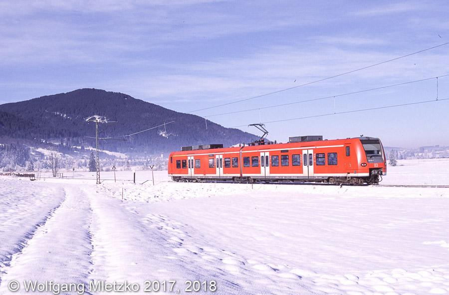 426 028 bei Oberammergau am 22.12.2007