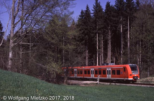 426 030 bei Grafenaschau am 17.04.2011