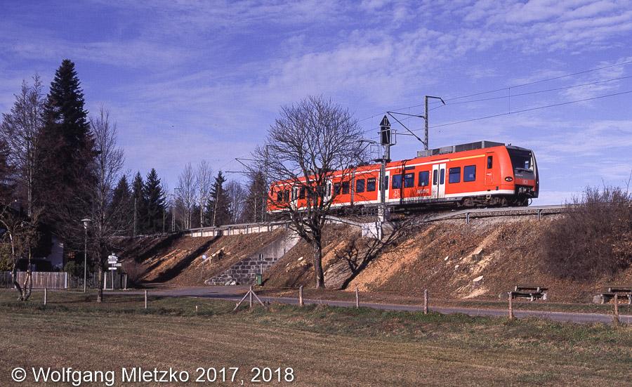 426 032 bei Bad Kohlgrub am 20.11.2011