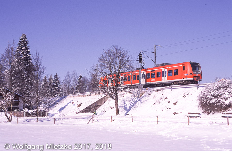 426 031 bei Bad Kohlgrub am 05.02.2012