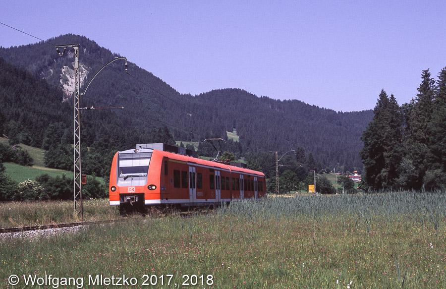 426 029 bei Oberammergau am 30.06.2012