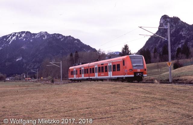 426 031 bei Oberammergau am 10.11.2012