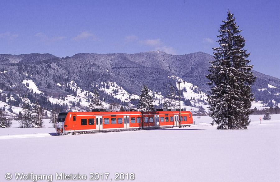 426 031 bei Oberammergau am 12.02.2006
