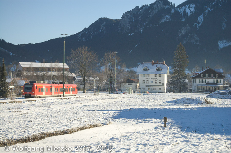 426 031 in Oberammergau am 27.12.2006